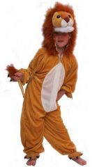 Kostuum Plush Leeuw 128