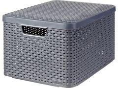 Curver Style Box S V2 + Deksel Antraciet  Drg308