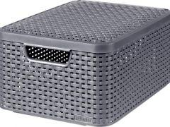 Curver Style Box M V2 + Deksel Antraciet Drg308