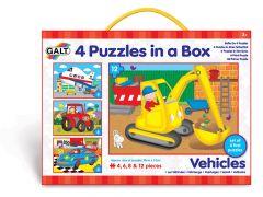 Puzzel voertuigen