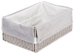 Hoes Voor Kleine Mand Badmeubel 1/2 Smart Soft Grey