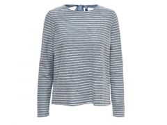 Only Noos Onlelly Stripe L/S Bow Top Noos Jrs