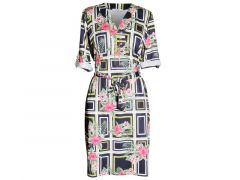 Vila Joy Z20 California-L-53-B Dress 3/4 Sleeve