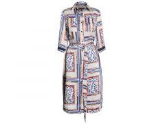 Vila Joy Z20 London-L-53-A Dress 3/4 Sleeve
