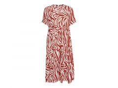 Jacqueline De Yong 2003 Jdytara S/S Midi Dress Denim Wvn