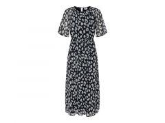 Jacqueline De Yong 2004 Jdysally 2/4 Mid Calf Dress Wvn Exp