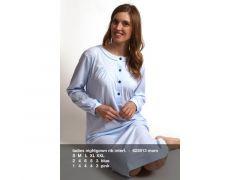 Cocodream W20 Dames Nachthemd Rib Interl. Mom
