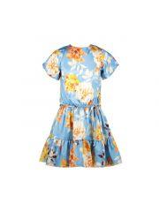 Le Chic Z21 Dress Satinlook Flower