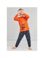 Schiesser W20 Boys Pyjama Long