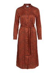 Vila 2101 Viramdi L/S Shirt Dress/Ofw