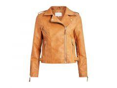 Vila 2012 Vimiccas Coated Biker Jacket/Su