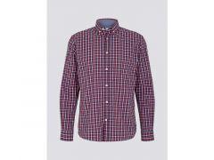 Tom Tailor Heren 2101 Regular Stretch Check Shirt