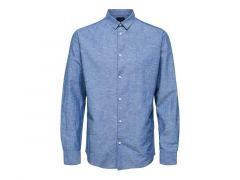 Selected Noos Slhslimnew-Linen Shirt Ls W Noos
