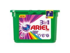 Ariel 3In1 Pods Color 16St