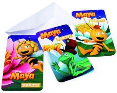 Maya Uitnodigingskaartjes Met Omslag