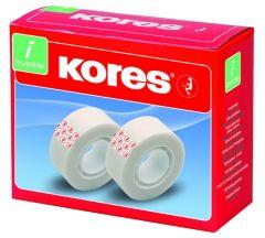 Kores Tape Onzichtbaar 33Mx19Mm 1St