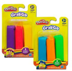 Play-Doh Grab 'N Go 3 Packs Asst.