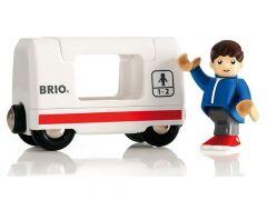 Brio Reiswagon Met Passagier