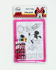 Minnie Color In Puzzle