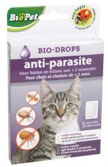 Biopet Anti-Parasite Bio-Drops Kat