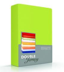Hoeslaken Stretch Double Jersey 180-200 Apple