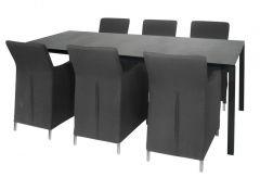 Sicilia Dining Chair Grey Quickdry