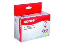 Kores Compatibel Inkjet Bonus Pack For Brother Lc970 Bk/C/M/Y