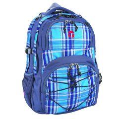 Take It Easy School Backpack Oslo Viola Blue