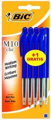 Bic M10 4 Stuks + 1 M10 Blauw