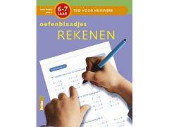 Tijd Voor Huiswerk Oefenblaadjes Rekenen 6-7J
