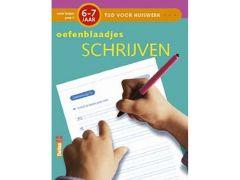 Tijd Voor Huiswerk Oefenblaadjes Schrijven 6-7J