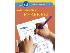 Tijd Voor Huiswerk Oefenblaadjes Rekenen 7-8J