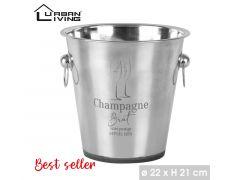 Champagne Emmer Dia 22Cm H21Cm