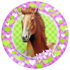 Paarden Borden 23Cm
