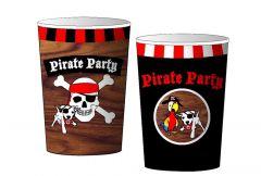 Piraten Bekers 8 Stuks