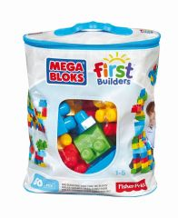 Mega Bloks First Builders Building Bag 60St Trendy