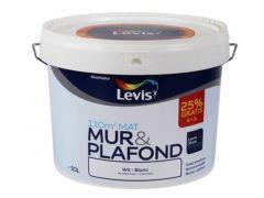 Levis Ls Mur & Plafond Wit 8L + 2L (25% Gratis)