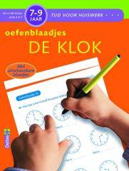 Tijd Voor Huiswerk Oefenblaadjes De Klok 7-9J