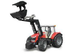 Bruder 03047 Massey Fergusson 7600 tractor met voorlader