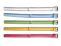 Colourful Halsb. 40Cm24Mm Geel/Zw