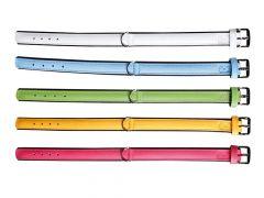 Colourful Halsb. 45Cm24Mm Geel/Zw