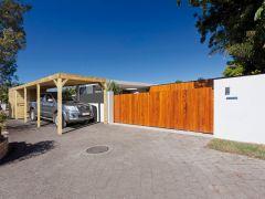 Carport/Paviljoen Modena 3240X7800 Met Berging