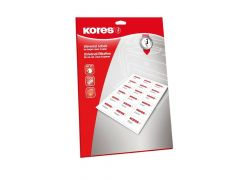 Kores Labels 192X61Mm 4Labels/Pag Wit