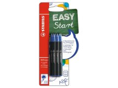 Stabilo Easy Original Refill Medium Blister Blauw 6 Stuks