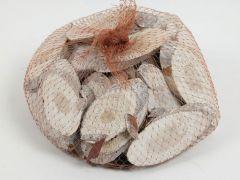 K Vurenhout Schijfjes 250Gr White Wash