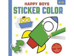 Happy Boys Sticker Color 2-3J