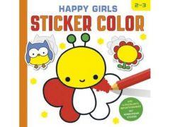 Happy Girls Sticker Color 2-3J