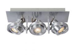 Lucide Landa Ii Spot Led 3X5W (49000/05/36 Incl) Aluminium