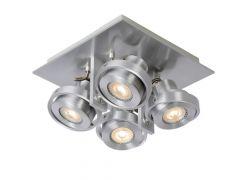 Lucide Landa Ii Spot Led 4X5W (49000/05/36 Incl) Aluminium