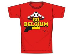 Belgium T-Shirt Rood Men Medium